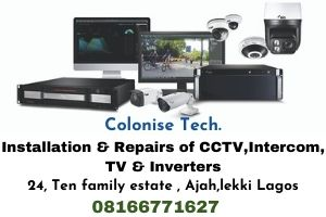 Installation and repairs of CCTV, Intercom, TV and inverters